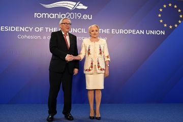 Joint press conference by Prime Minister Viorica Dăncilă and the President of the European Commission Jean -Claude Juncker