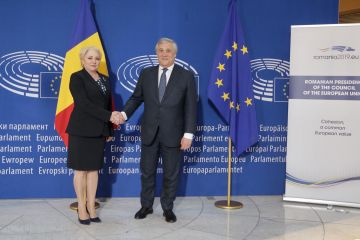 Joint press conference by Prime Minister Viorica Dăncilă and the President of the European Parliament Antonio Tajani
